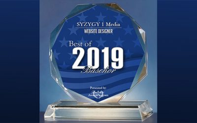 SYZYGY 1 Media Receives 2019 Best of Basehor Award