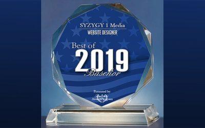 SYZYGY 1 Media Receives 2019 Best of Basehor Award